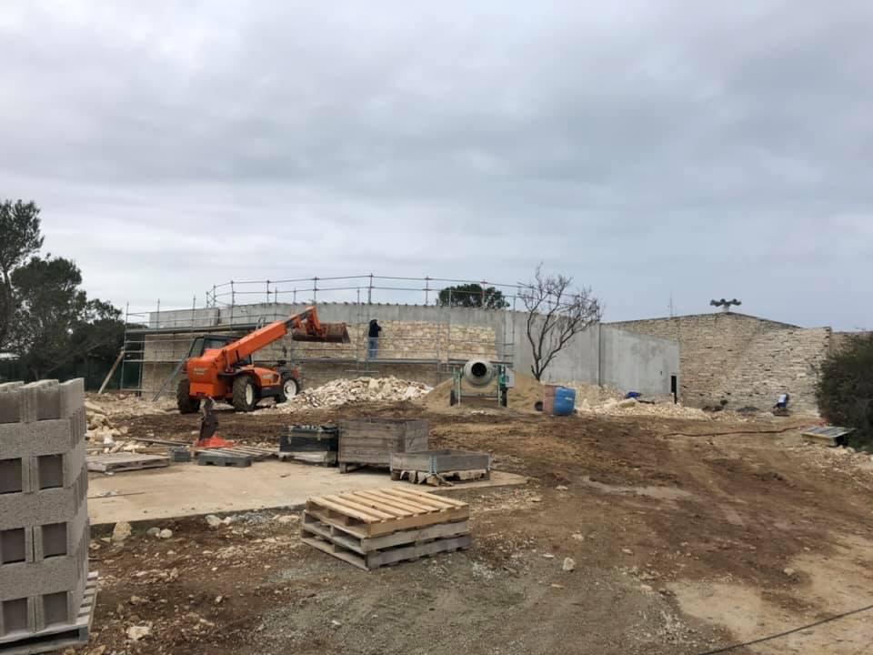 Réservoir d'eau potable de Nîmes 1 500 m2